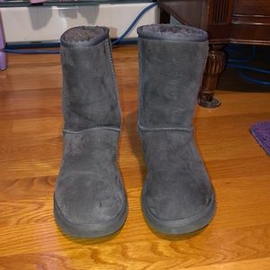 Grey short Ugg's size 8 in women's